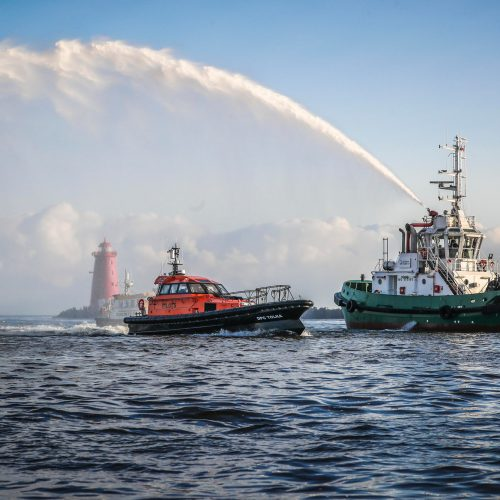 ORC Pilot Boat Welcomed to Dublin